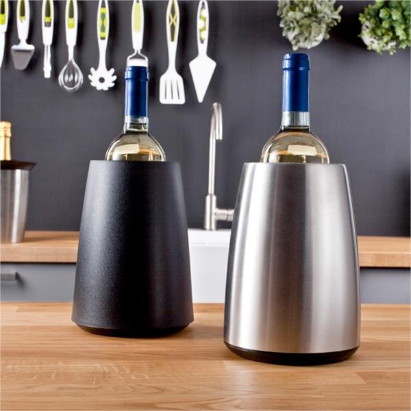 Active cooler elegant zilver rode wijnglazen shop - Ventilatie grot een vin ...